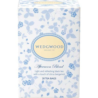 Waterford Wedgwood Japan(ウォーターフォード ウェッジウッド ジャパン) ウエッジウッド アフタヌーンブレンドティー 20袋 【飲料 紅茶 セイロン】の画像