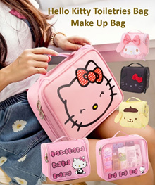 💖 Hello Kitty Big Storage Anti Bacterial Travel Organizer 💖 Toiletries Bag 💖 Make up Pouch 💖