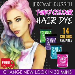 ✨JEROME RUSSELL PUNKY COLOR HAIR DYE✨ Direct from United States ★ NICE SCENT ★ VIBRANT COLORS★
