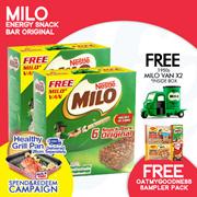 [NESTLE]【FREE GRILL PAN WITH $68 SPENT!!】【FREE MINI MILO VAN!!】x2 MILO® ENERGY SNACKBAR