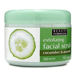 [beauty formula]Beauty Formulas cucumber  and avocado facial scrub★