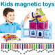 ▶Magical Magnetic Building Toys◀GFA-Kids Magnetic Block Toys/ Helps build up kids' creativity intellectual ability and imagination skills/ Magnetic Modelling Puzzle
