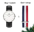Watch + Strap Set ♥ Limited Quantity - 100% Authentic ♥ Daniel Wellington Classic/Classy/Dapper Collections + Watch Bands for Men and Women