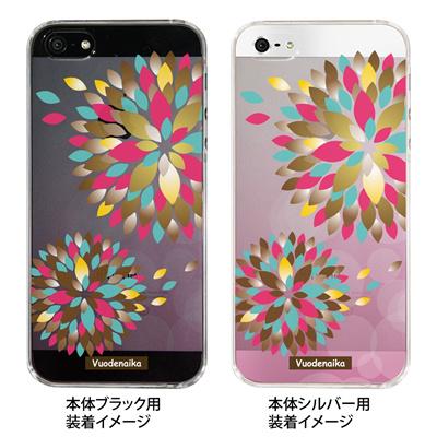 【iPhone5S】【iPhone5】【Vuodenaika】【iPhone5ケース】【カバー】【スマホケース】【クリアケース】【フラワー】 ip5-21-ne0012の画像