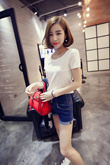 Candy Color Women/Girl Simple T-Shirt~~Flat price~~Clearance~~BUY 10pcs IN 1 SHIPPING FEE~~