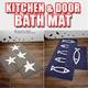 Bath mat Kitchen mat floor carpet rug Door mat freeshipping Movie Drama Sponsor company LKEY