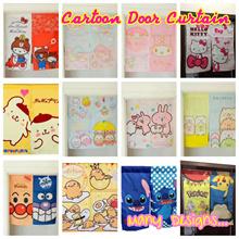 💖 Cartoon Hello Kitty MANY DESIGN Door Curtain 💖 Kitchen Bedroom Home Office Shop Curtains 💖