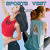 [Moving Peach] Chinese New year Sale !sports vest yoga vest tank top running wear quick dry premium