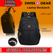 LOCAL▐ 100% Authentic▐ Swiss Gear Backpack / Laptop Backpack / Laptop Bag / Ultra light