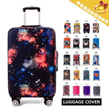 New Design-Travelling▶New Travel Suitcase Protection Cover◀GEA- Thick and Elastic Material/Colorful/Light and Covenient/Water-proof/Cover Protector/20 Colors