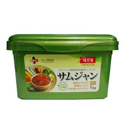 【韓国食品・韓国調味料】■ヘチャンドル味付け味噌サムジャン(1kg)■の画像