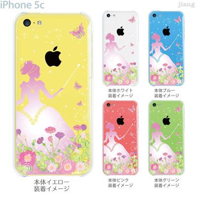 【iPhone5c】【iPhone5cケース】【iPhone5cカバー】【ケース】【カバー】【スマホケース】【クリアケース】【クリアーアーツ】【Clear Arts】【プリンセス】 22-ip5c-ca0102の画像