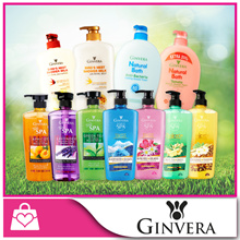 1+1+1 [GINVERA] Bundle of 3 Shower Body Shower Cream / Shower Scrub / Natural Bath (Mix and Match) x 3 Bottles