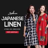 2015 High Quality Japanese Linen Apparels Cotton Dress Japan Linen / Plus Size Dress/Pants/Shirt