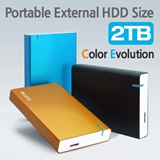 ★New Arrival★[LETO] M2SU3.0 (2TB)- Ultra-Capacity Portable External HDD Size