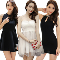 Hot body  short skirt sexy party/Work dress/Wear with bare back dress  /Sexy Dress