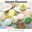 ASSORTED MACARONS /  12 Flavours / Box of 6 Sale!