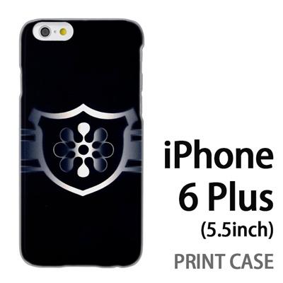 iPhone6 Plus (5.5インチ) 用『No3 緑のエンブレム』特殊印刷ケース【 iphone6 plus iphone アイフォン アイフォン6 プラス au docomo softbank Apple ケース プリント カバー スマホケース スマホカバー 】の画像