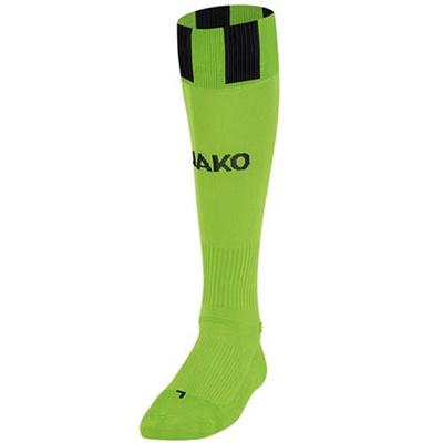 ヤコ(JAKO) ストッキング 3810 アップル/ブラック 25-27cm 【サッカー ソックス】の画像