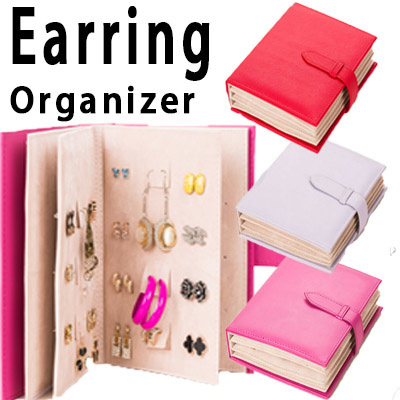 Where to shop for daisy cosmetics organizer in singapore for Diy travel earring holder