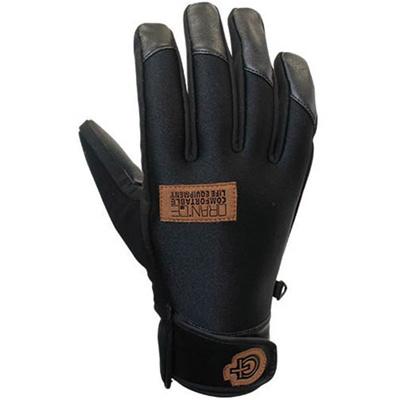 ◆即納◆オレンジ(oran'ge) Team Glove(チームグローブ) BLACK 180105 【スキー スノーボード ウインターアクセサリー】の画像