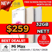 [16GB/32GB/64GB/128GB] Xiaomi Mi Max 3GBRAM+32GB / 4GBRAM+128GB//Fingerprint Identification/6.44 Inch/16MP Camera /Snapdragon 650 Hexa-core Adreno 510 4850mAh Mobile Phone (GOLD) Buy and Collect NOW!