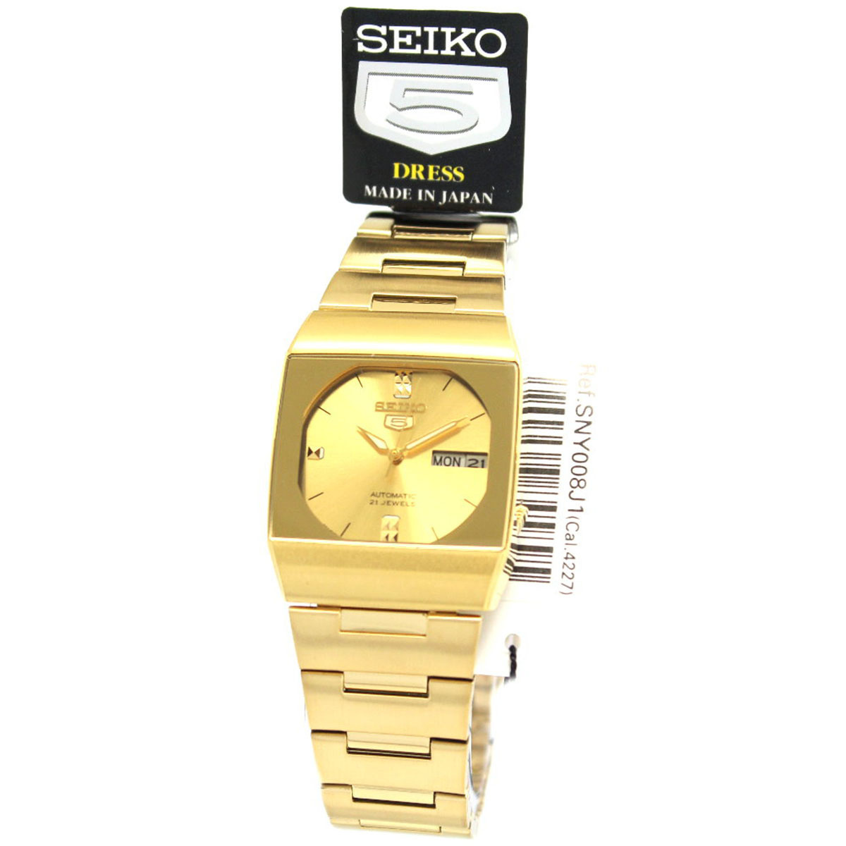 【クリックで詳細表示】SeikoSeiko Ladies 5 Automatic Dress Watch BNIB + Warranty SNY008J1