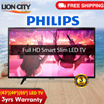 Philips FHD* 4K* LED TV [43PFT6100/ 49PFT6100/ 55PFT5200/ 55PUT5801] Free Delivery 3yrs Warranty