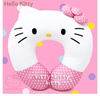 ♡HELLO KITTY♡ Beads Kitty Face Neck Cushion Pink Ribbon 721633 ♡ Pink Ribbon Design / Multi Purpose Neck Cushion / Neck Comfortable Cushion / 多目的ネッククッション / ネック快適なクッション [FREE SHIPPING / 送料無料]