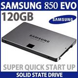 Samsung 850 EVO 120GB SSD (MZ-75E120B) / 2.5-Inch SATA III Internal SSD