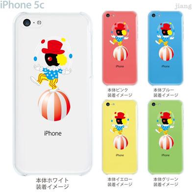 【iPhone5c】【iPhone5c ケース】【iPhone5c カバー】【ケース】【カバー】【スマホケース】【クリアケース】【クリアーアーツ】【Clear Arts】【ピエロ】 10-ip5c-ca104の画像