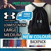 ❤ 1+1 OFFER [UNDER ARMOUR] From Medium-Large Drawstring Bag Waterproof *GOOD QUALITY*