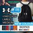 ❤FREE-SHIPPING!!❤ [UNDER ARMOUR] From Medium-Large Drawstring Bag Waterproof *GOOD QUALITY*