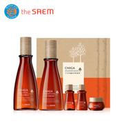 [The SAEM/ザセム]カバノアナタケ発酵スキンケア2種セット/CHAGA Anti-wrinkle Skin Care 2 Set/韓国コスメ/直営通販/ザセムの直接販売/ SHINee