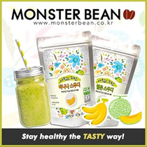 15 DAYS PACK! ✦Korea No.1 Instant Smoothie✦2 Types: Melon✓ Banana✓ ♥Delicious Real Fruit