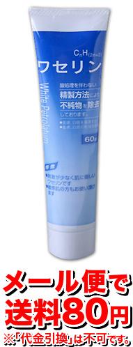 【ゆうメール便!送料80円】大洋製薬ワセリンHGチューブ60g[]