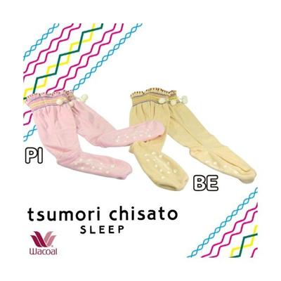 ツモリチサト【tsumori chisaro ~ワコール~】 カラーループ パイル ルームソックスの画像