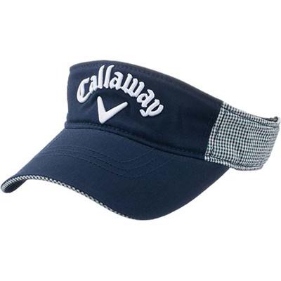 キャロウェイ(Callaway) スタイル(STYLE)バイザー 15 JM NVY/GRN 【メンズ ゴルフ 帽子 15】の画像