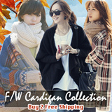【BUY 2 FREE SHIPPING】2015 F/W Cardigan/Sweater Collection 0-40 Degree Recommend High Quality Guarantee