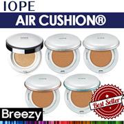 [BREEZY]★ [IOPE] AIR CUSHION / Matt Finish / Natural Glow / Matt Longwear / Intense Cover / Moisture Lasing / Cushion + Refill / 15g * 2/