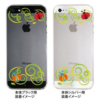 【iPhone5S】【iPhone5】【Clear Fashion】【iPhone5ケース】【カバー】【スマホケース】【クリアケース】【てんとう虫】 ip5-22-ca0016の画像
