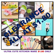 [ORTE] ALL ITEMS AT  $1.80 TO CLEAR ★  Unique Cute Kitchen Helpers ★ Innovative Kitchen Ware ★