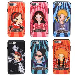 iPhone7プラスケース(選択1)/携帯ケース/スライドカバー/カード入れ