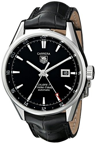 【クリックで詳細表示】[アメリカ直送]TAG Heuer Men s WAR2010.FC6266 Carrera Analog Display Swiss Automatic Black Watch