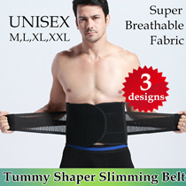 [3 Designs] Unisex Tummy Shaper Slimming Belt / Waist Wrap Body Shapewear / Tightness Adjustable Band/ Maternity Postpartum Recovery Belt / Non-Invasive Back Pain Solutions