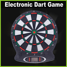 [Life+] Indoor Electronic Dart Game Set ★ 6 Soft-Tip Darts • Batteries Required