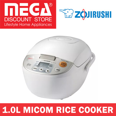 Zojirushi nswac10wb fuzzy logic 5 5cup rice cooker and warmer