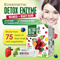 Kinohimitsu Detox Enzyme - 75 Types of Fruits n Vegetables * Digestive Enzymes * Weight Loss [NEW]
