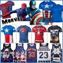 ♥2016夏の新作♥男子半袖/カップル/綿/XXII/HBA/夏服/買う3送る1/買う5送る2/スパイダーマン/超人/キャプテン/男女兼用/Marvel /アイアンマン/Iron Man/Captain America/Spider-Man/BIGBANG / G-gradon/GD TOP/