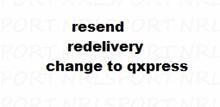 qxpress reshipping exchange reshipping . change to qxpress shipping fee